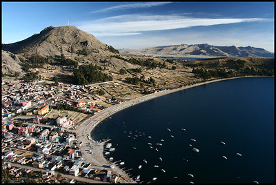 Copacabana and Lake Titicaca, Bolivia