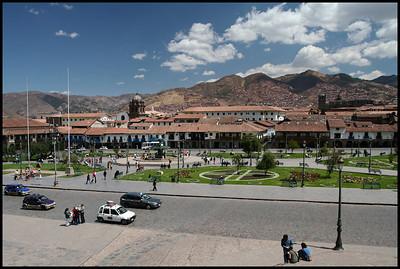Plaza del Armes, Cuzco