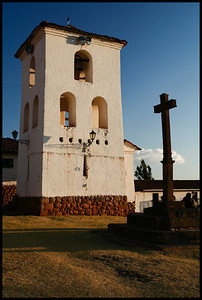 Church at Chincero, Cuzco region