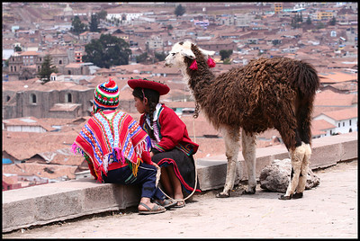 Watching over Cuzco