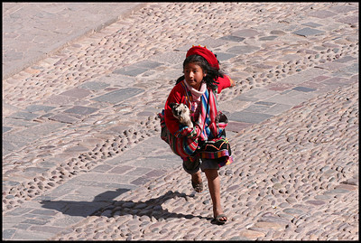 Girl in Cuzco
