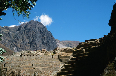 Ollanta ruins, Village of Ollantatambo