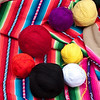Chinchero - Awana Wasi<br /> Once dyed, the yarn is used to make beautiful, colorful textiles.