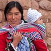 Chinchero<br /> Amelia and her son, Wayra