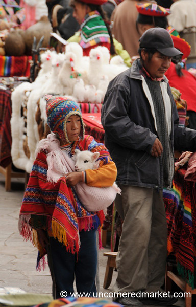 Dressed for a Photo Opportunity - Cusco, Peru