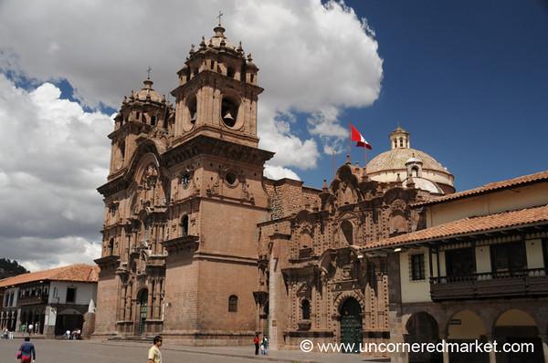 Iglesia de La Compania de Jesus - Cusco, Peru