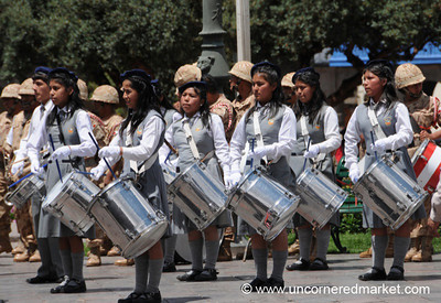 Drumming Team - Cusco, Peru