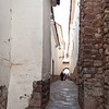 Plaza de las Nazarenas - Siete Culebras (Seven Snakes)<br /> This narrow alley leads from our hotel to Plaza de las Nazarenas.