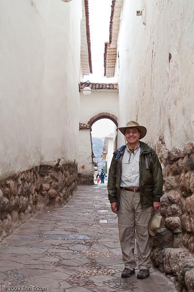 "Plaza de las Nazarenas - Siete Culebras (Seven Snakes)<br /> A ""Mui walked Siete Culebras"" photo op."