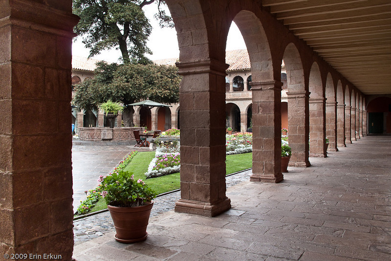 Hotel Monasterio (former Seminary of San Antonio Abad)<br /> The conquistadors built the original monastery in 1595 on the foundations of the palace of Inca Amaru Qhala. In 1598, the seminary was founded for the purpose of training Catholic priests.  The building was remodeled into a hotel in 1965.