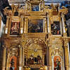 Cusco Cathedral (Cathedral of Santo Domingo)<br>Altar<br> (Photography not allowed; scanned from postcard.)