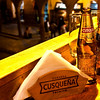Plaza de Armas<br /> Locally brewed beer - a good start to the simple meal that will follow.