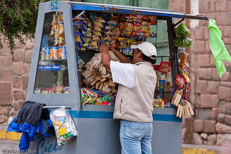 Plaza de las Nazarenas<br /> Local Color