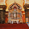 Cusco Cathedral (Cathedral of Santo Domingo)<br>Main Altar<br> (Photography not allowed; scanned from postcard.)