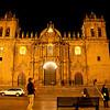 Cusco: Plaza de Armas<br /> Cusco Cathedral (Cathedral of Santo Domingo)