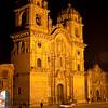 Cusco: Plaza de Armas<br /> Iglesia de la Compañia (Church of the Company)