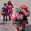 Cusco: Plaza de Armas<br /> Local Color