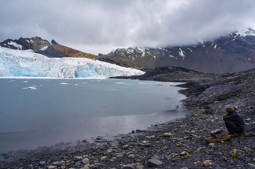 Pastoruri glacier in Peru