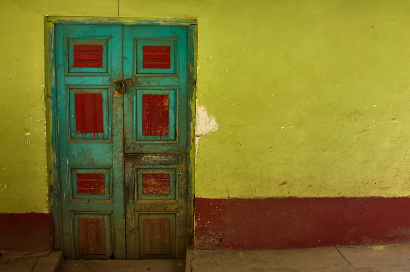 Door in Vaqueria, Peru