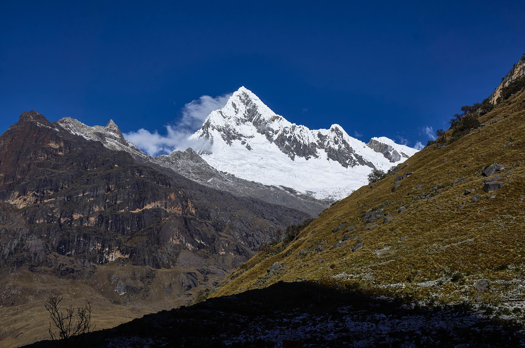 Beautiful day at the Santa Cruz trek without a guide in Peru