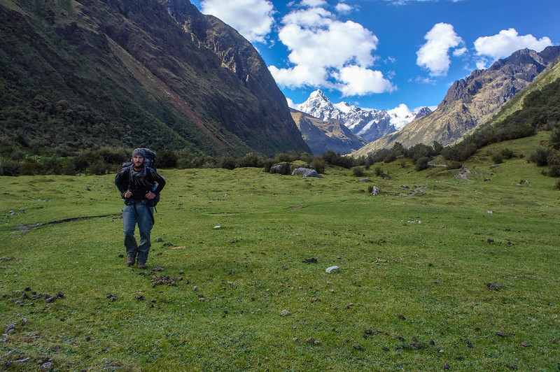 Edwin on the last day on the Santa Cruz trek in Peru