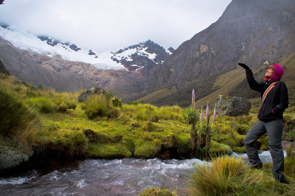 Me during the Santa Cruz trek in Huaraz, Peru