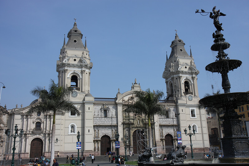 Plaza de Armas and the Cathedral