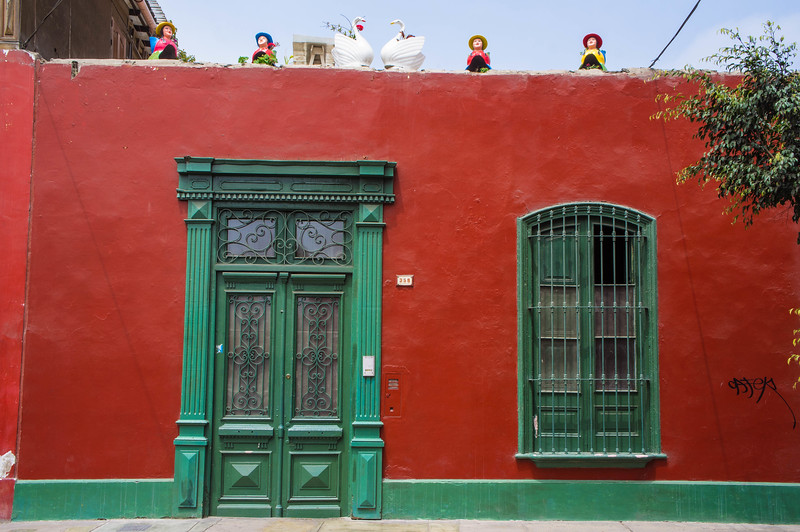House in Barranco, Lima (Peru)