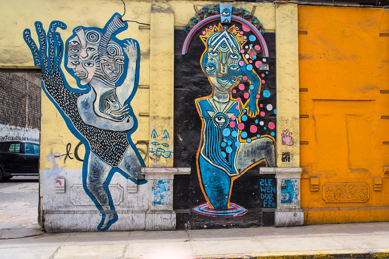 Street art in Barranco, Lima (Peru)