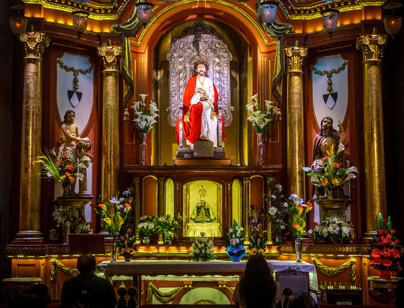 Picturesque Convento de Santo Domingo.