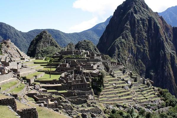 The steps of Macchu Picchu