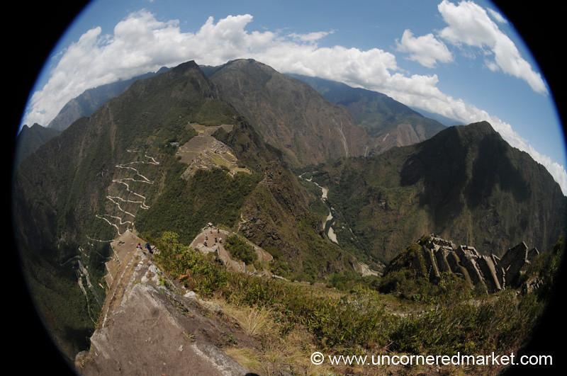 Fisheye View from Wayna Picchu - Peru