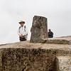 "Machu Picchu - Intiwatana<br /> A ""Mui at the Intiwatana"" photo op."