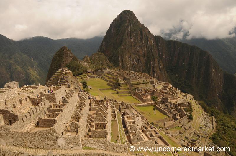 View Over Machu Picchu, Peru