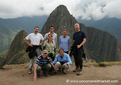 At the End of the Tour - Machu Picchu, Peru