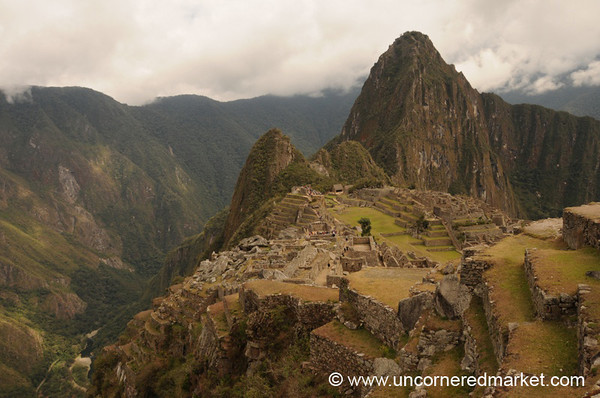 Back Side of Machu Picchu, Peru