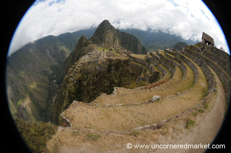 Fisheye View of Machu Picchu, Peru