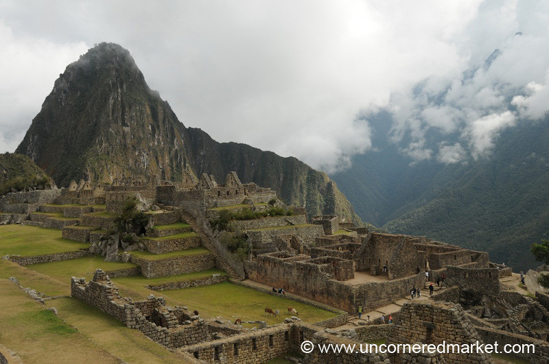 Morning Breaks over Machu Picchu - Peru