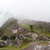 Machu Picchu<br /> Left (front to back): Rock Quarry; Sacred Plaza with Temple of the Three Windows and Principal Temple; Intiwatana Pyramid<br /> Center:  Main Plaza<br /> Right: Eastern Urban Sector