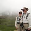 "Machu Picchu<br /> A ""memento of our trip"" photo op.<br /> (photo by Vidal)"