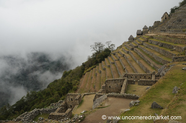 The Terraces of Machu Picchu - Peru
