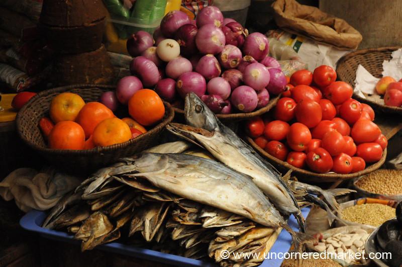 Fish and Veggies - Chachapoyas, Peru