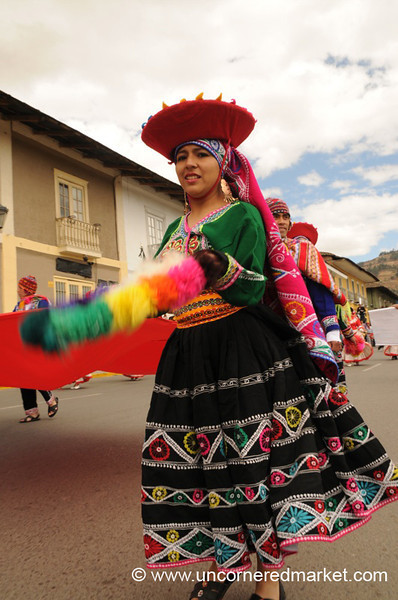 Peruvian Folk Dancer - Cajamarca, Peru