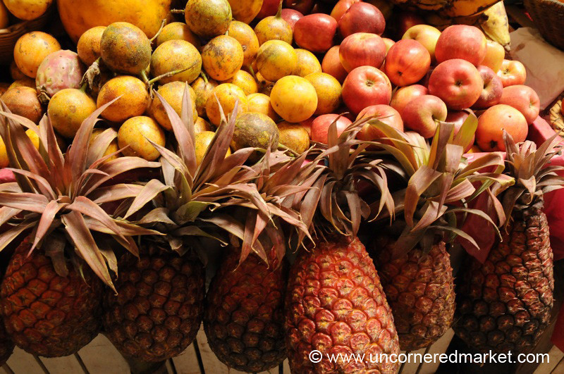 Red Pineapples - Chachapoyas, Peru