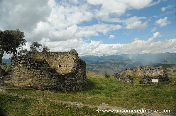 Circular Home of Kuelap - Near Chachapoyas, Peru