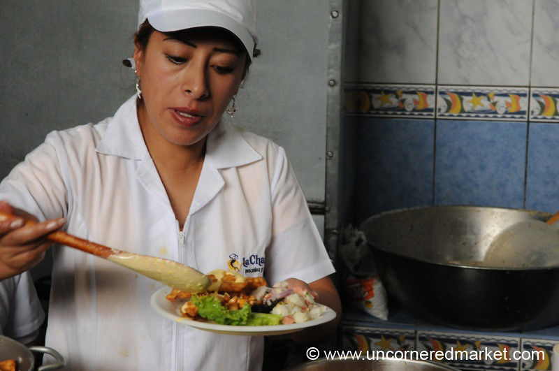 Fish So Nice on a Saturday - Cajamarca, Peru