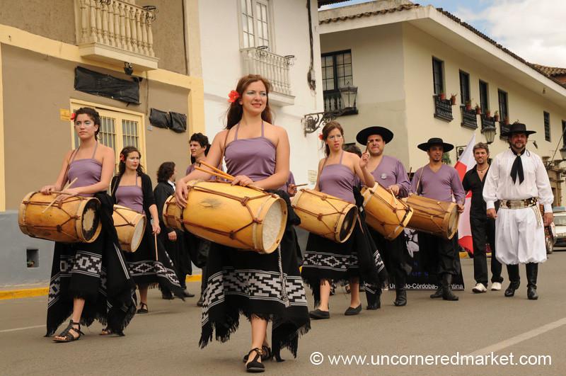 Drums and Gaucho - Cajamarca, Peru