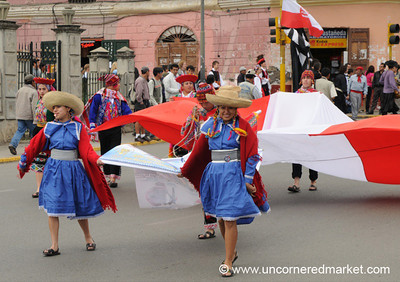 Peruvian Folk Dancers - Cajamarca, Peru