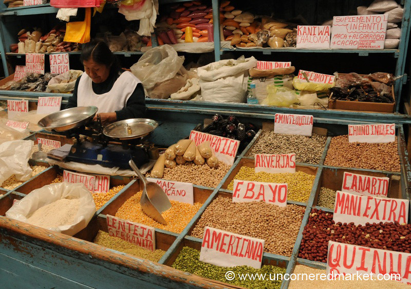 From Nuts to Dried Potatoes - Cajamarca, Peru