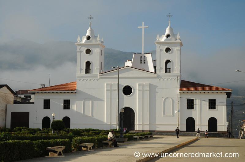 Church in Chachapoyas, Peru
